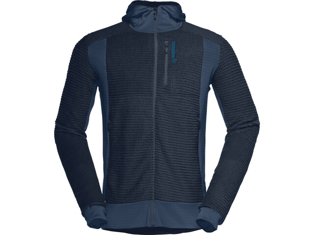 Norrøna Lofoten Alpha Raw Zip Hoodie Herre indigo night